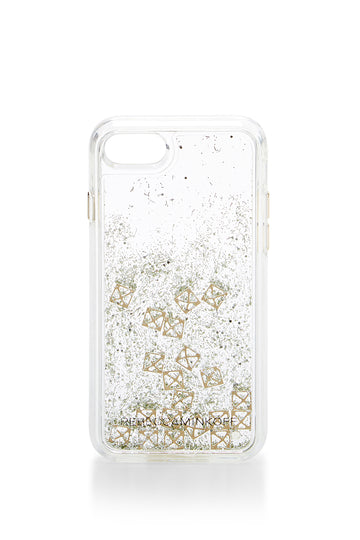 Studs Glitterfall Case For iPhone 8 & iPhone 7