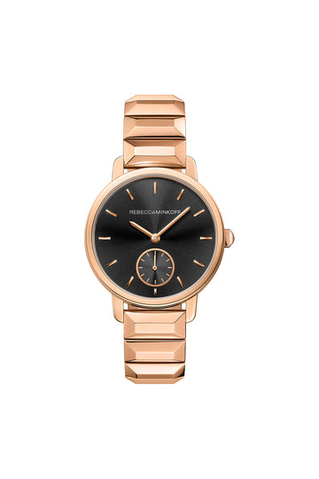 BFFL Rose Gold Bracelet Watch,36MM