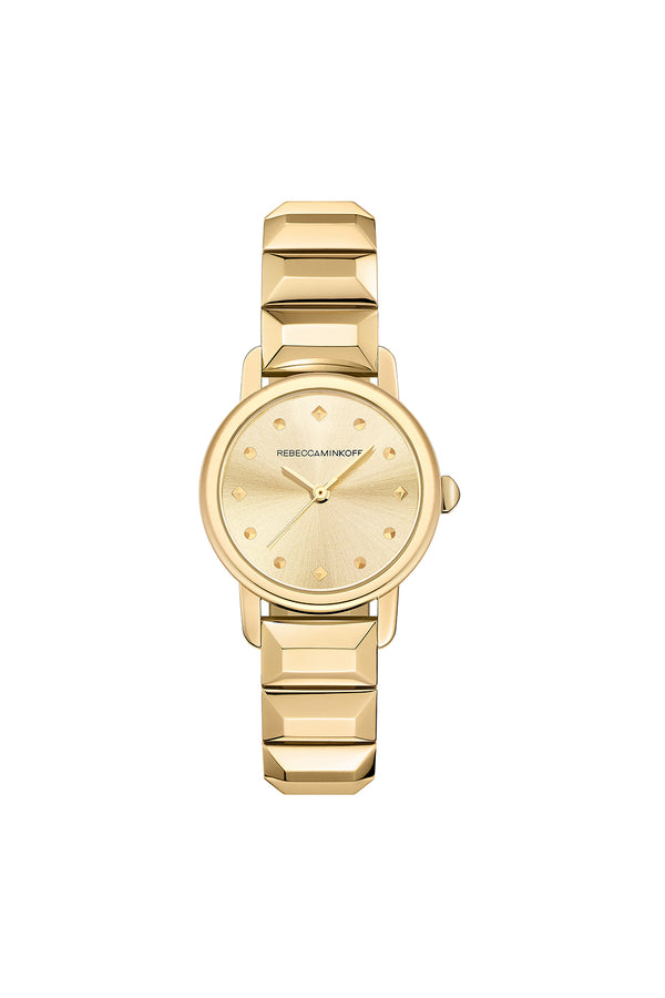 Bffl Gold Tone Bracelet Watch, 25 Mm by Rebecca Minkoff