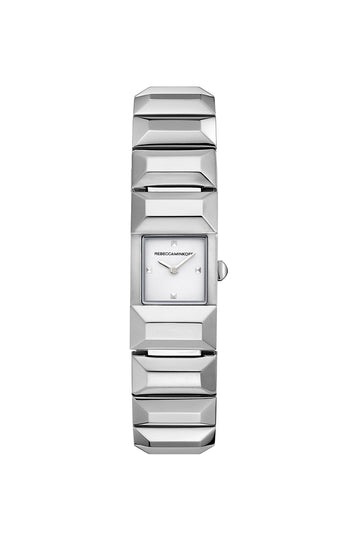 LTD Silver Tone Bracelet Watch, 16MM X 21MM
