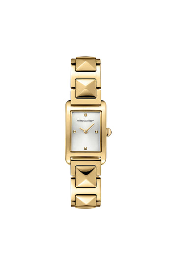 Moment Gold Tone Bracelet Watch, 19MM X 30MM