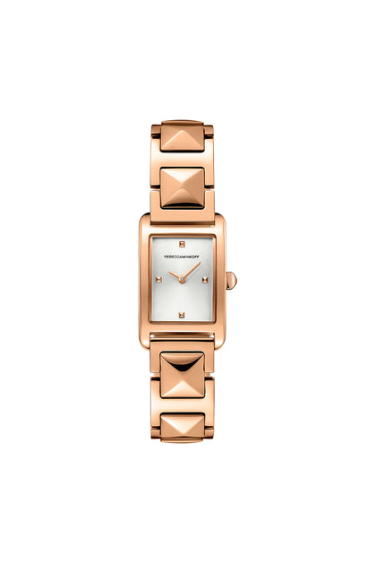 Moment Rose Gold Tone Bracelet Watch, 19MM X 30MM