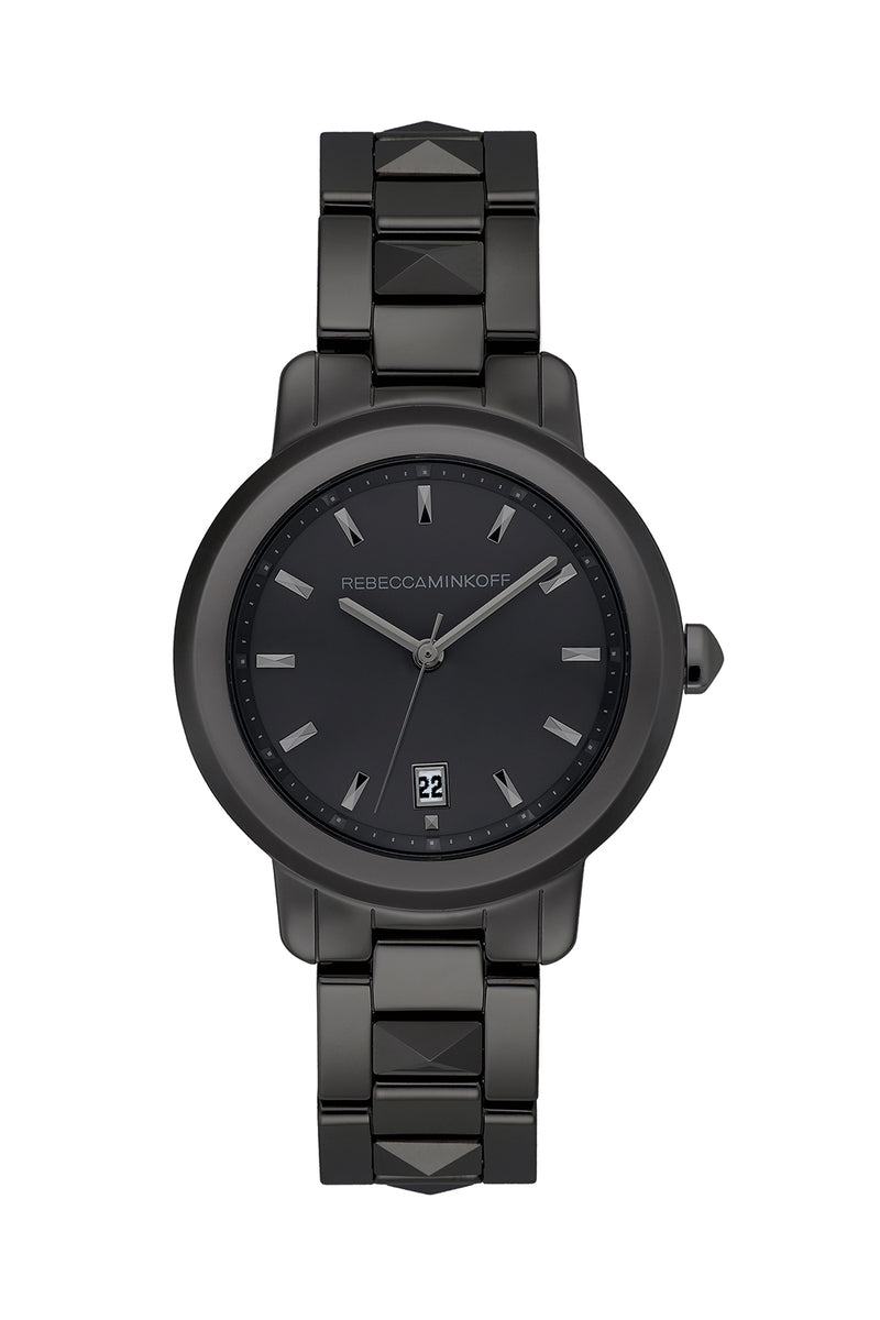 BFFL Black Ceramic Bracelet Watch, 36MM