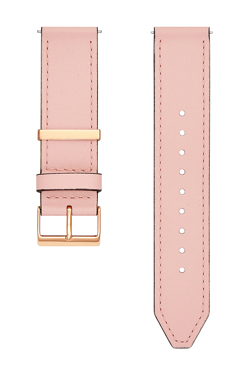 Major Interchangeable Blush Leather Strap