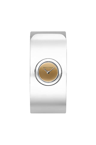 Hooked Stainless Steel Tone Bangle Watch, 18mm 12137265791102