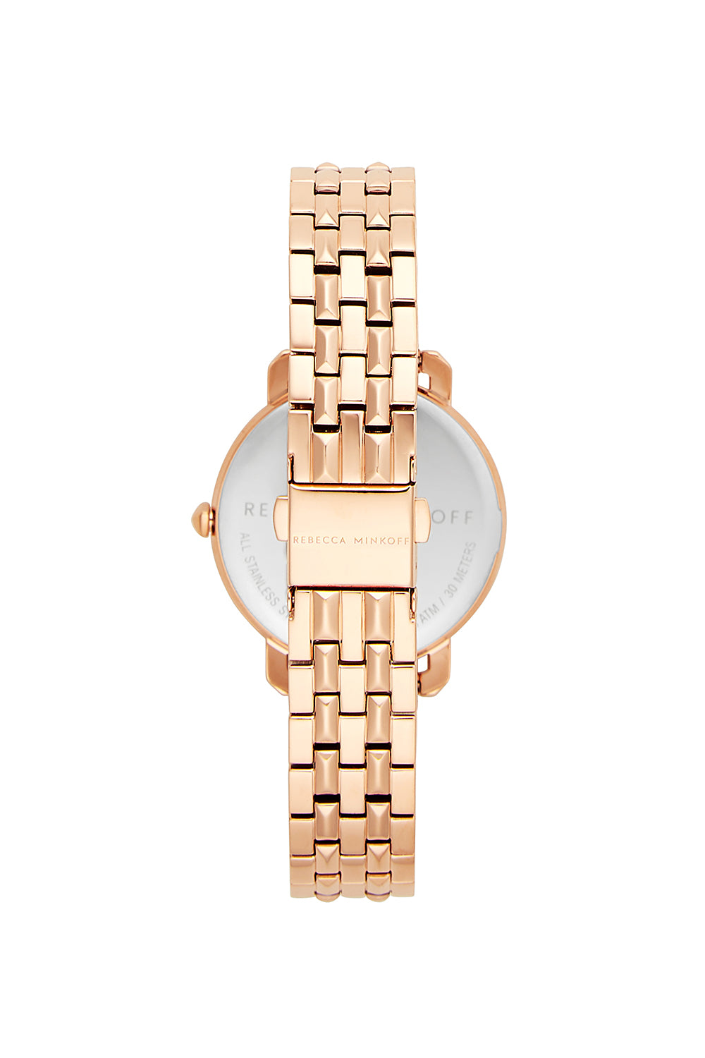 Billie Rose Gold Tone Bracelet Watch, 34MM