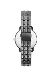 Billie Grey Ion Plated Tone Bracelet Watch, 34MM
