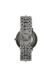 Major Grey Ion Plated Tone Bracelet Watch, 40mm - Hover Image