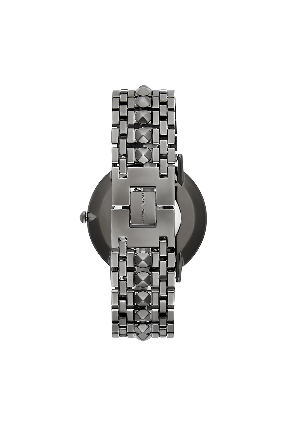 Major Grey Ion Plated Tone Bracelet Watch, 40mm