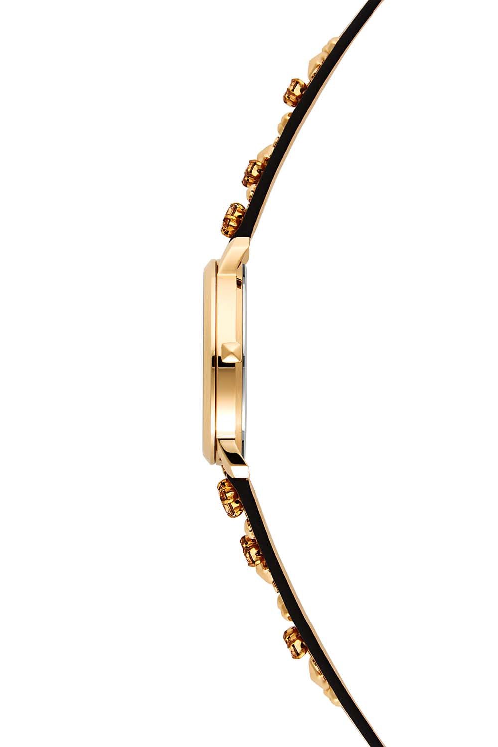 Billie Gold Tone Almond Strap Watch, 34mm