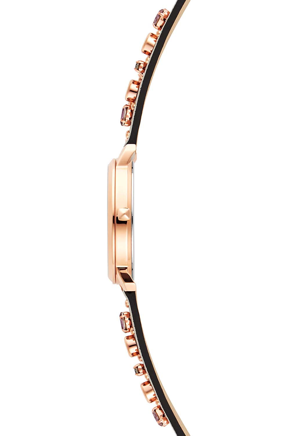Billie Rose Gold Tone Putty Strap Watch, 34mm