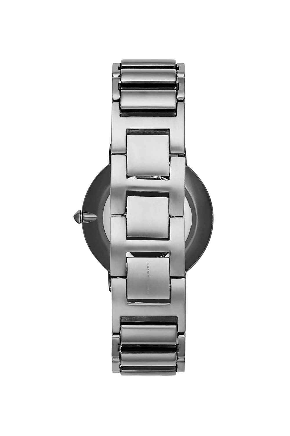 Major Grey Ion Plated Tone Bracelet Watch, 35mm