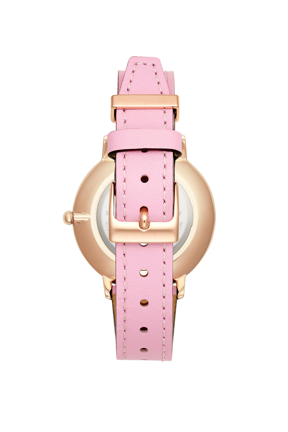 Major Rose Gold Tone Orchid Strap Watch, 35mm