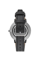 Major Grey Ion Plated Tone Black Strap Watch, 35mm - Hover Image