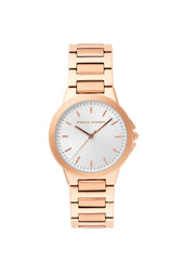 Cali Rose Gold Tone Bracelet Watch, 34mm