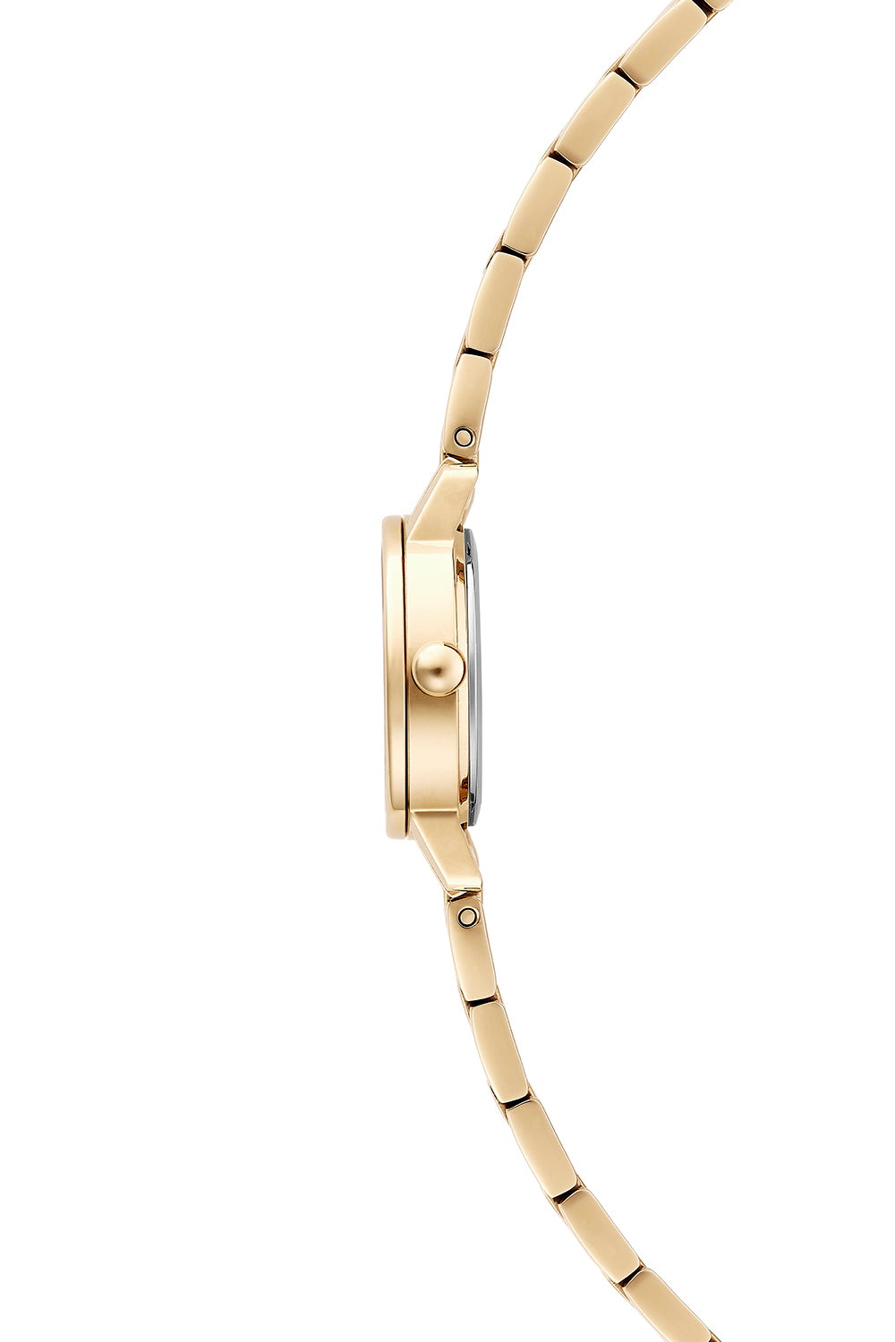 BFFL Gold Tone Bracelet Watch, 25mm