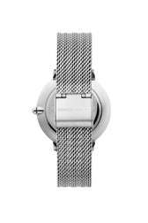 Major Silver Tone Mesh Bracelet Watch, 35MM - Hover Image