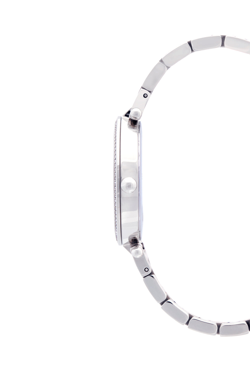 Nina Silver Tone Bracelet Watch, 33mm