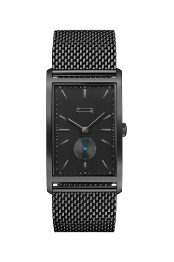 Pesaro Black Tone Mesh Bracelet Watch, 27MM X 45.5MM