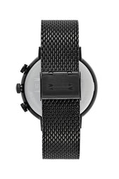 Griffith Black Tone Mesh  Bracelet Watch, 43MM
