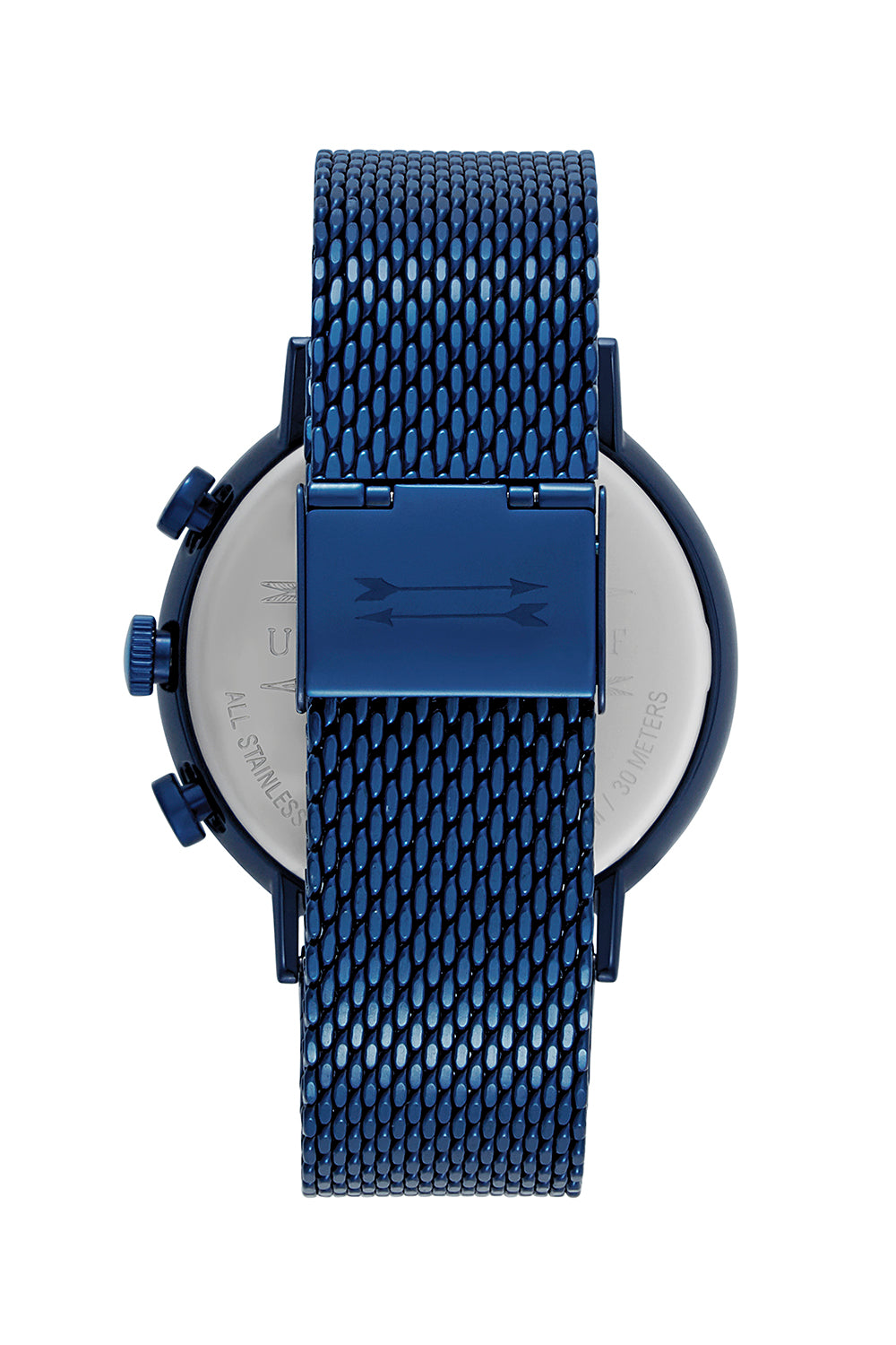 Griffith Blue Tone Mesh Bracelet Watch, 43MM