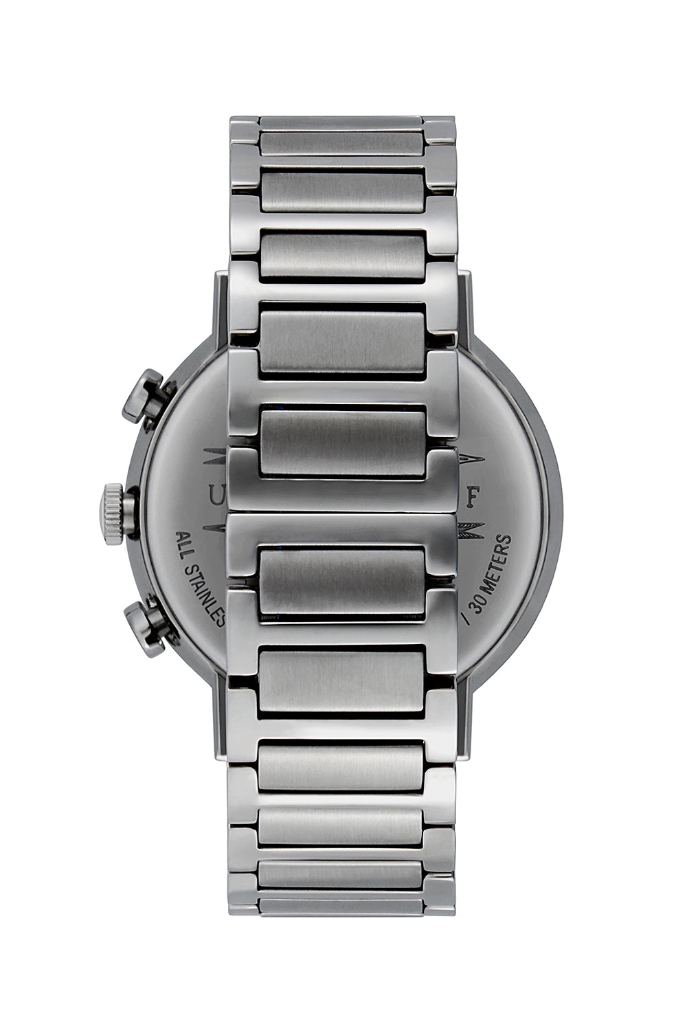 Griffith Silver Tone Bracelet Watch, 43MM