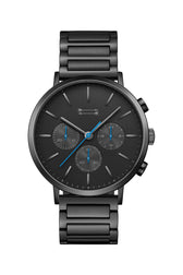 Griffith Black Tone Bracelet Watch, 43MM