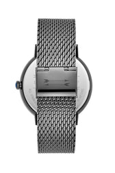 Norrebro Grey Tone Mesh Bracelet Watch, 40MM