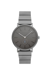 Norrebro Grey Tone Bracelet Watch, 40mm