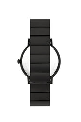 Norrebro Black Tone Black Leather Strap Watch, 40MM - Hover Image