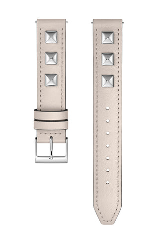 2250017 major interchangeable putty custom dipped studded leather strap a large