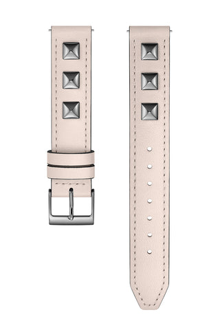 2250020 major interchangeable soft blush custom dipped studded leather strap a large