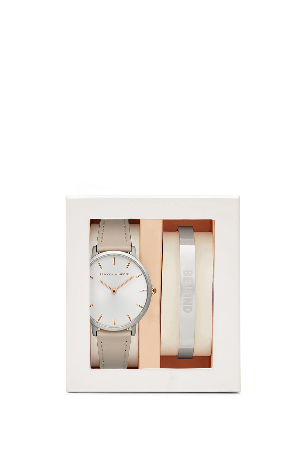 Major Putty 35MM Watch & Stainless Steel Bangle Gift Set