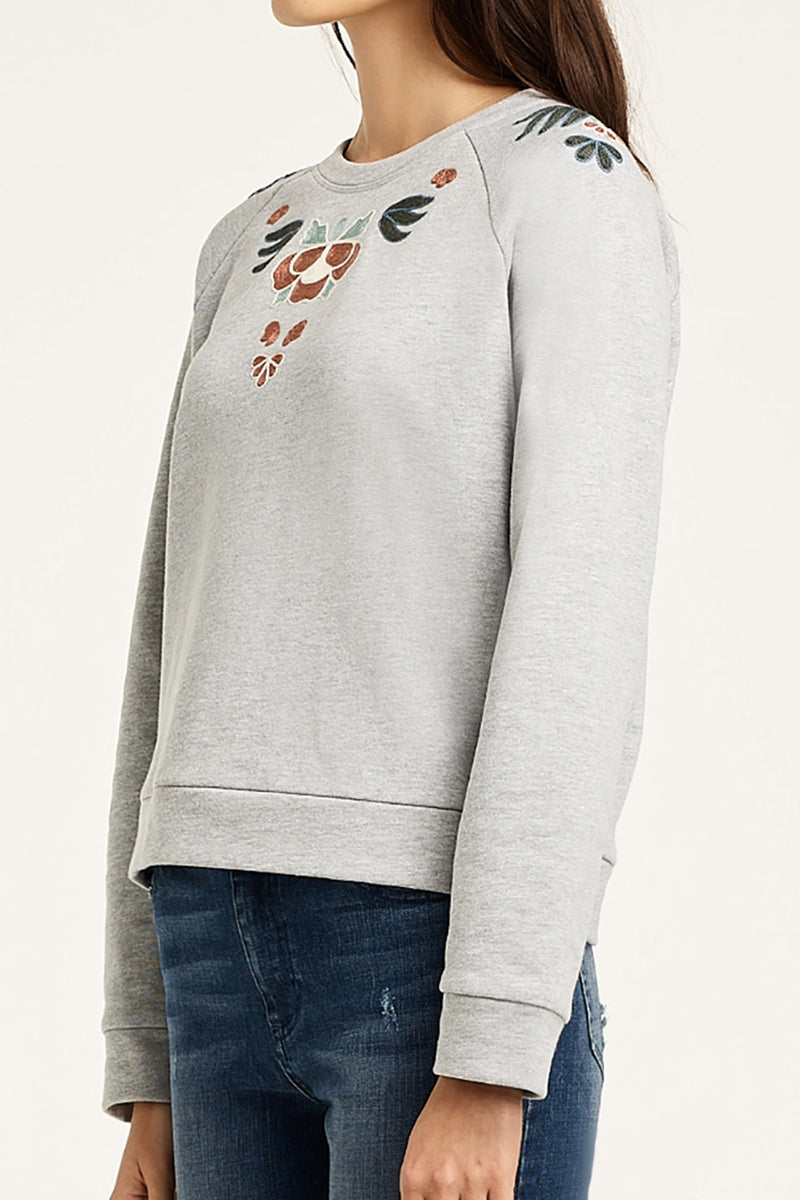 Jennings Embroidered Sweatshirt