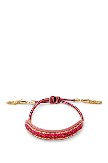 Striped Seed Beads Friendship Bracelet
