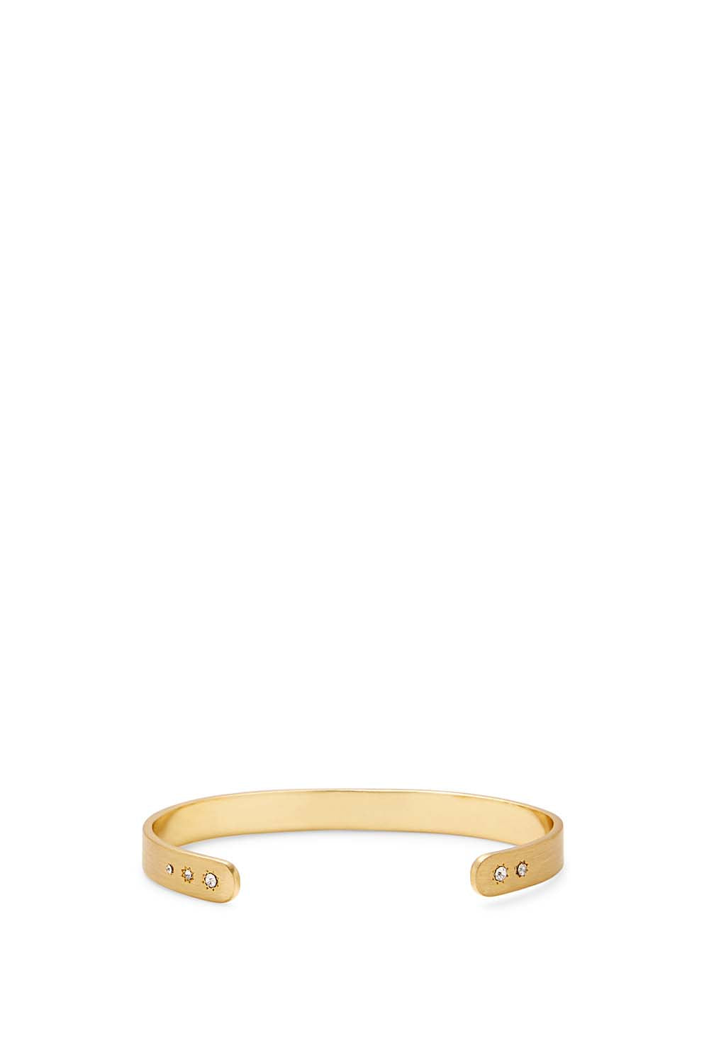 Rebecca Minkoff Metal Cuff With Stone Details