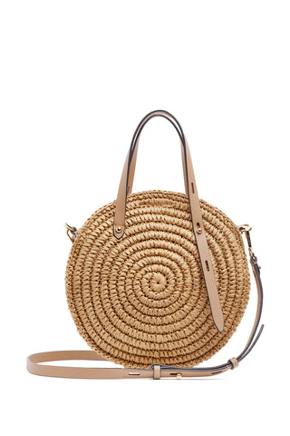 Cu19istt14 small circle tote 212 desert tan a large