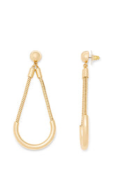 Tube And Chain Earring - Hover Image