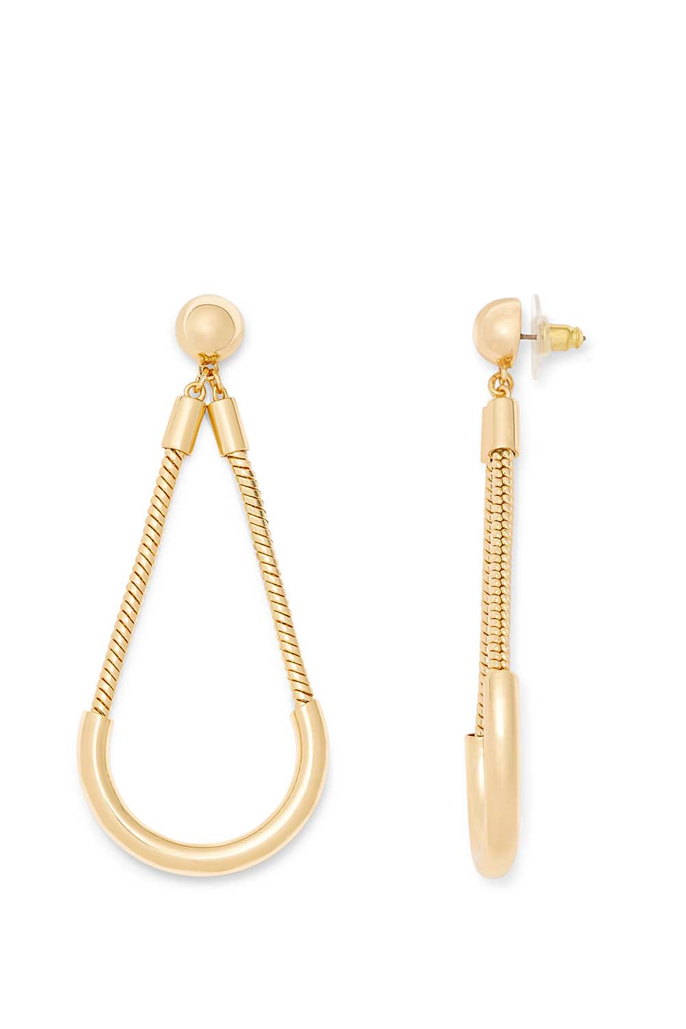 Tube And Chain Earring