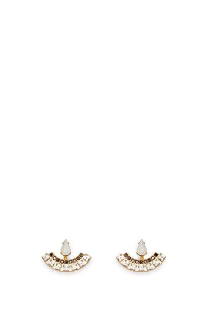 Clara Stone Front Back Earring