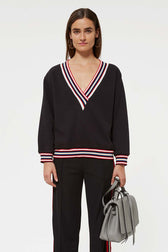 Kristine Sweatshirt With Stripes