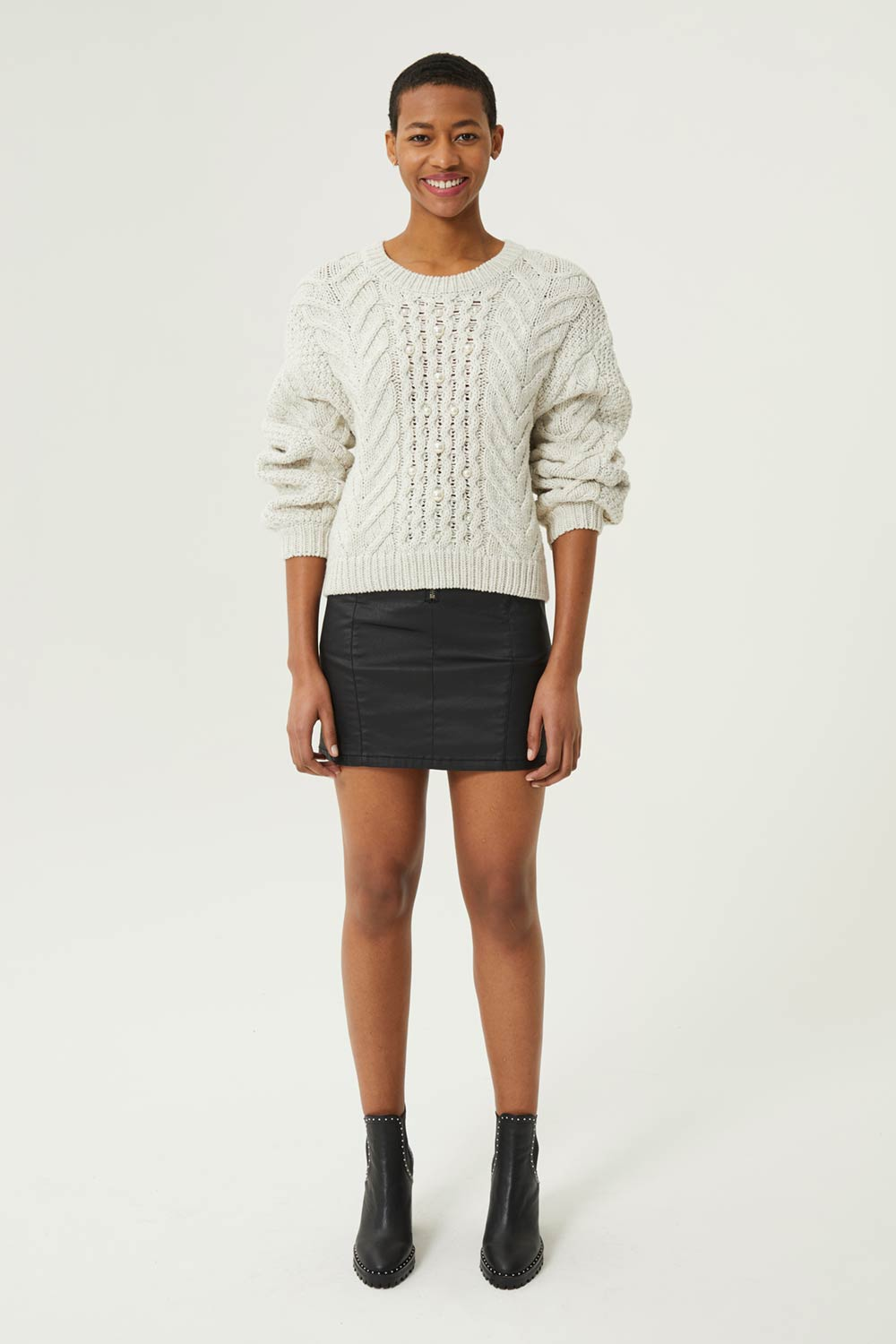 Blake Sweater With Pearls