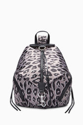 Julian Satin Nylon Backpack