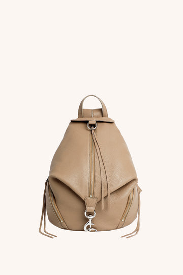 레베카 밍코프 Rebecca Minkoff Julian Backpack,SANDRIFT