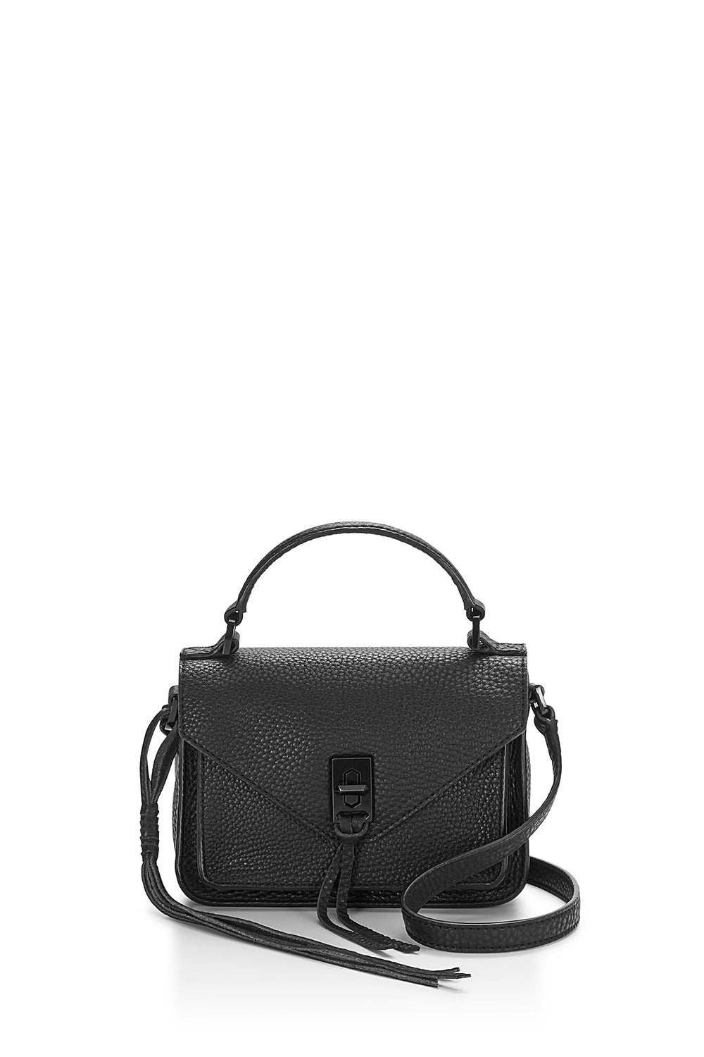 b523c1793b All Black Mini Darren Messenger Bag