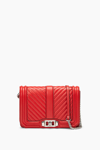 Chevron Quilted Small Love Crossbody 53050556627