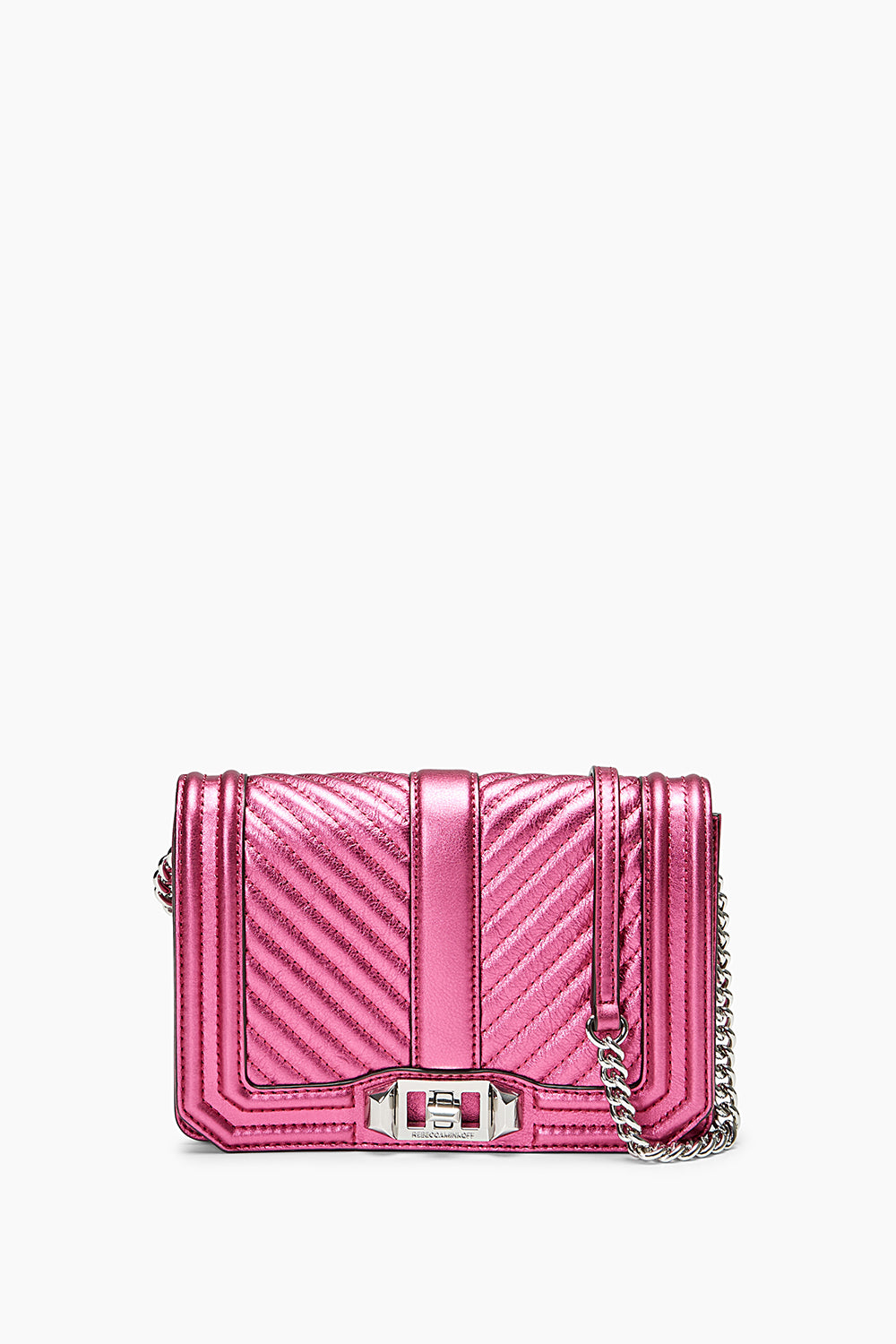 Chevron Quilted Small Love Crossbody Rebecca Minkoff