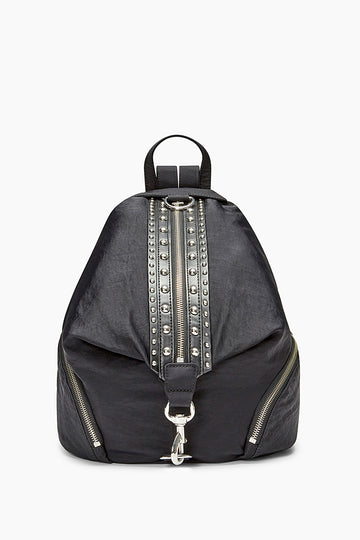 Julian Nylon Backpack With Studs