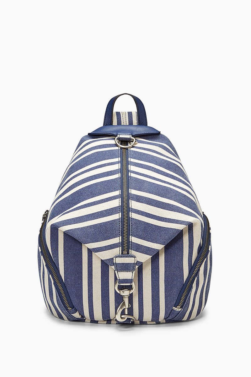 JULIAN CANVAS BACKPACK - BLUE