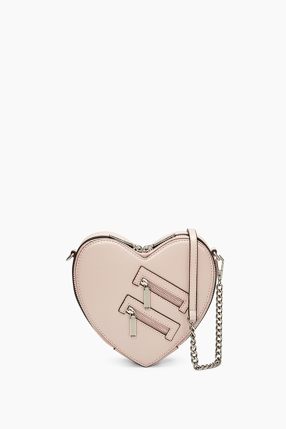 Rebecca Minkoff Jamie Heart Crossbody (Vintage Pink) Cross Body Handbags qJsSJ